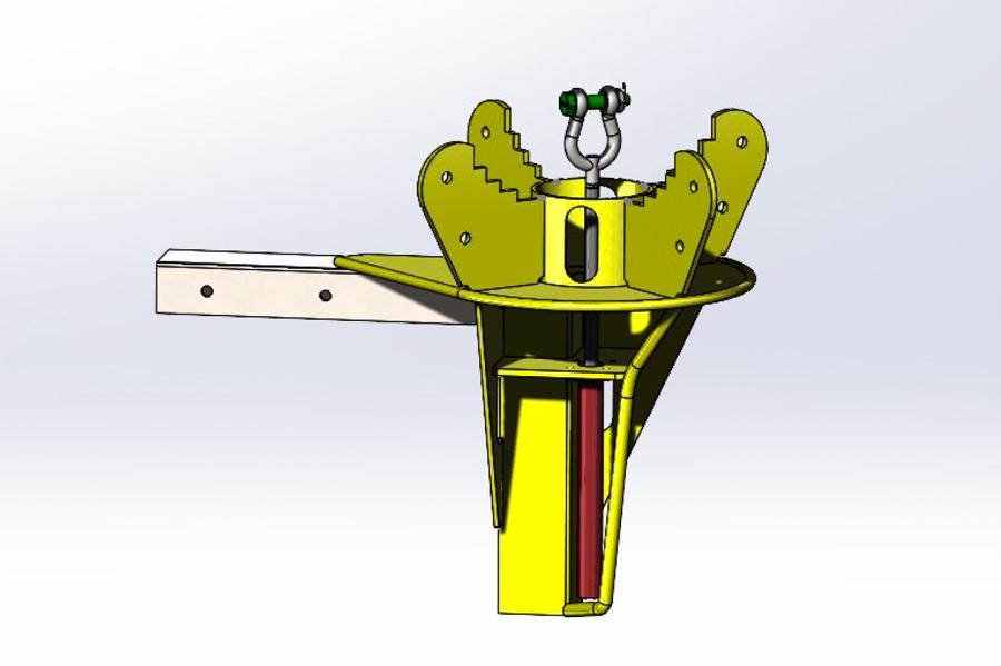 Hydraulisk skiveholder